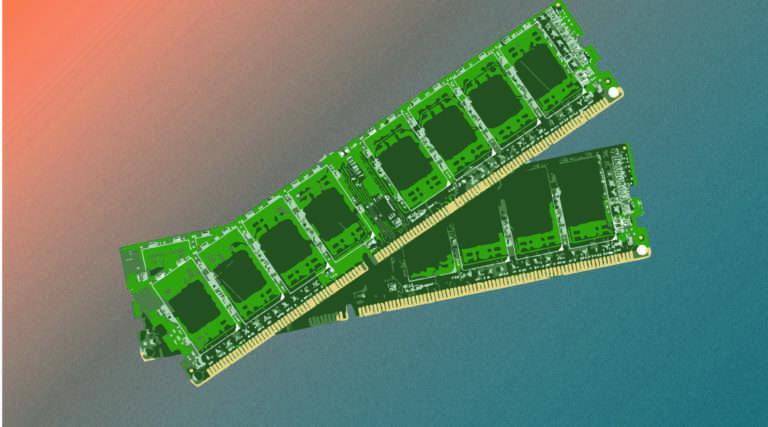 RAM sticks illustration