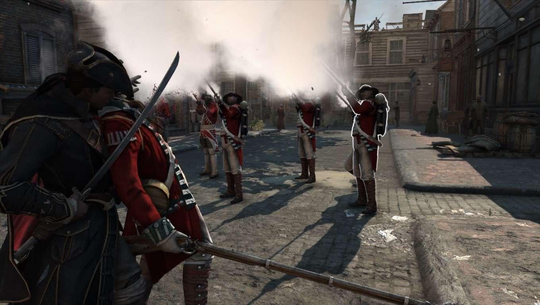 Assassin's Creed III combat