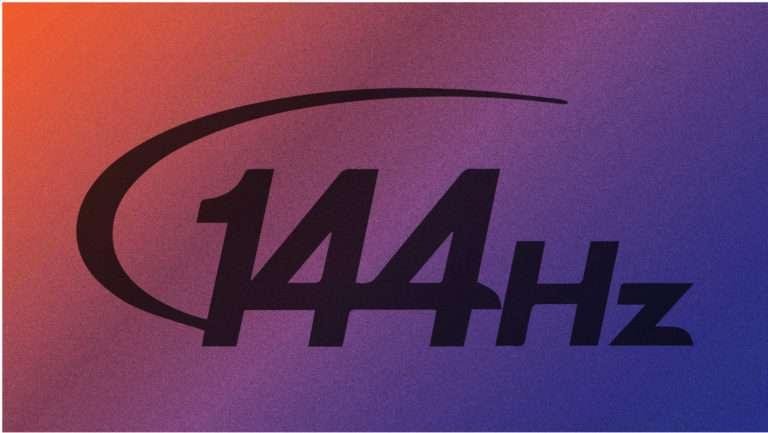 144hz display