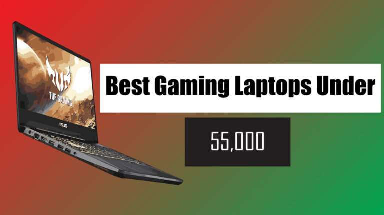 best gaming laptop under 55000