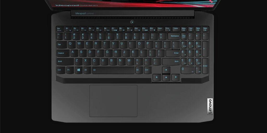 Lenovo ideapad gaming 3 keyboard and trackpad